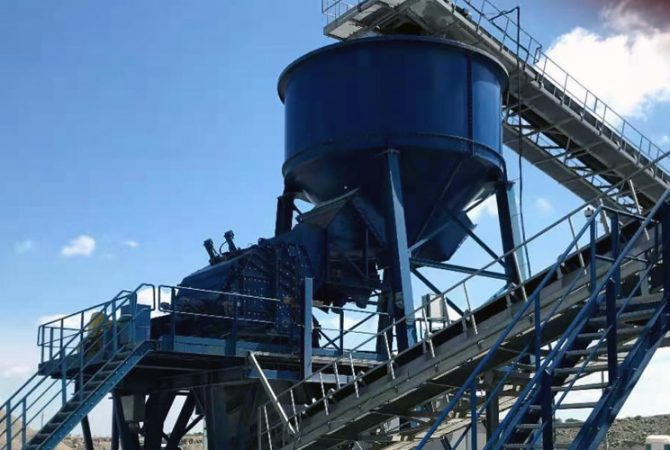 Limestone Processing Plant in Lithuania